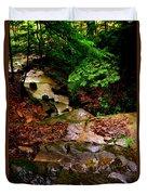Rocky Stream Duvet Cover