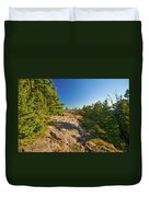 Rocky Trail Duvet Cover