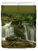 Rocky Twin Falls Duvet Cover