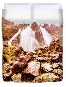 Rocky Water Wilderness Duvet Cover