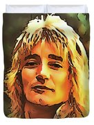Rod Stewart Collection 1 Duvet Cover