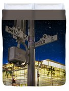 Rodeo Dr. And Dayton Way Duvet Cover