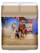 Rodeo Rider Down Duvet Cover