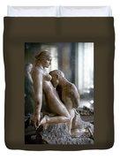 Rodin: Lovers, 1911 Duvet Cover