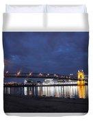 Roebling Bridge Span Duvet Cover