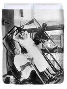 Roentgen X-ray Machine Duvet Cover