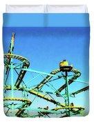 Roller Coaster Duvet Cover