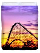 Rollercoaster Of Life Duvet Cover