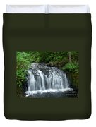 Rolley Lake Falls Dry Brushed Duvet Cover