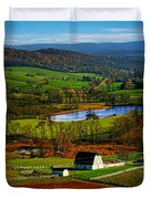Rolling Countryside Duvet Cover