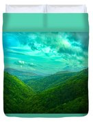 Rolling Hills Of Italy Duvet Cover