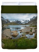 Rolling Mountain Clouds Duvet Cover