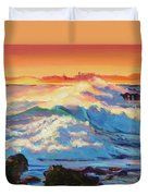 Rolling Ocean Surf - Plein Air Duvet Cover
