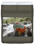 Rolling Water Dreams Duvet Cover