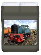 Rolls Royce Sentinel Dl83 Diesel Shunter At The Nene Valley Railway Duvet Cover