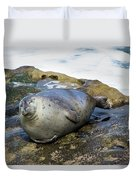 Roly Poly Seal Duvet Cover