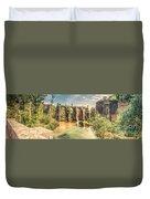 Roman Aqeduct I Duvet Cover