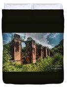 Roman Aqueduct II Duvet Cover