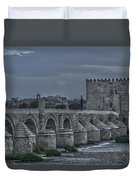 Roman Bridge In Cordoba II Duvet Cover
