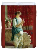Roman Girl Duvet Cover