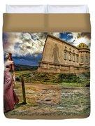 Roman Goddess Duvet Cover