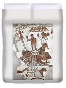 Roman Mosaic: 5th Century Duvet Cover