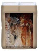Roman Nudes 45 Duvet Cover