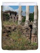 Roman Poppy Duvet Cover