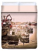 Romance In Howth Duvet Cover