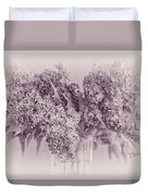 Romancing The Lilac Duvet Cover