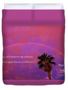 Romans 4 Duvet Cover