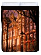 Romantic Amsterdam Duvet Cover