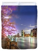 Romantic Blooms Duvet Cover