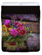Romantic Bouquet 3 Duvet Cover