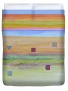 Romantic Landscape  Duvet Cover