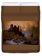Romantic Landscape  Duvet Cover