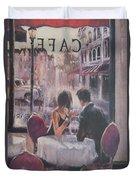 Romantic Meeting 2 Duvet Cover