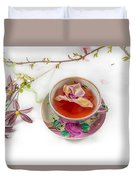 Romantic Pinks And Violets 2 Duvet Cover