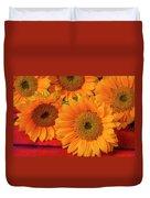 Romantic Sunflowers Duvet Cover