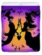 Romantic Toast Duvet Cover