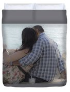 Romantic Whispers Duvet Cover