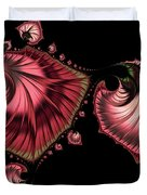Romantically Jewelled Abstract Duvet Cover