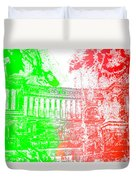 Rome - Altar Of The Fatherland Colorsplash Duvet Cover