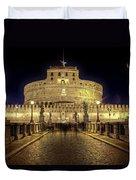 Rome Castel Sant Angelo Duvet Cover by Joana Kruse
