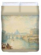 Rome Duvet Cover by Joseph Mallord William Turner