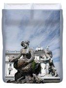 Rome Piazza Duvet Cover