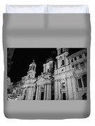 Rome - Piazza Navona - A View 3 Duvet Cover