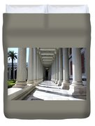 Rome Pillars Duvet Cover