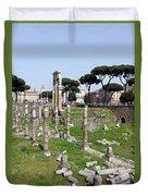 Rome Ruins Duvet Cover
