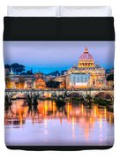 Rome - St Peter  Duvet Cover
